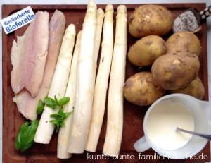 Spargel-Kartoffel-Forelle-Zut