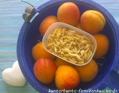 aprikosemandelzutaten